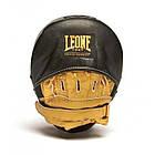 Лапы боксерские Leone Power Line Black, фото 3
