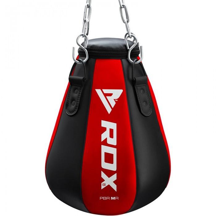 🔥 Боксерская груша капля RDX Red New 52 см 18-22 кг черно-красная