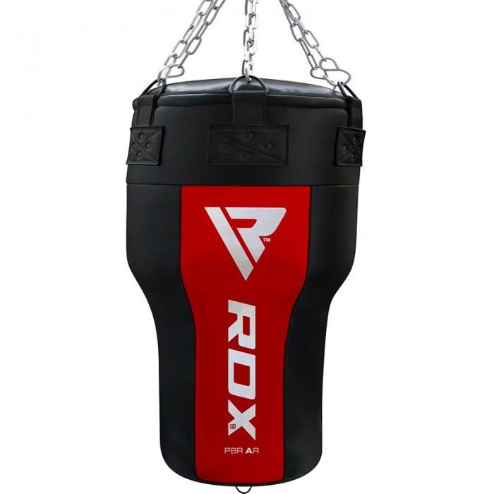 🔥 Боксерский мешок конусный RDX Red New 110 см 50-60 кг черно-красный
