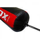 🔥 Боксерский мешок конусный RDX Red New 110 см 50-60 кг черно-красный, фото 3