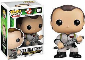 Фигурка Funko Pop Фанко ПопПитер Венкман Ghostbusters: Dr. Peter Venkman Охотники за привидениями GB PV104