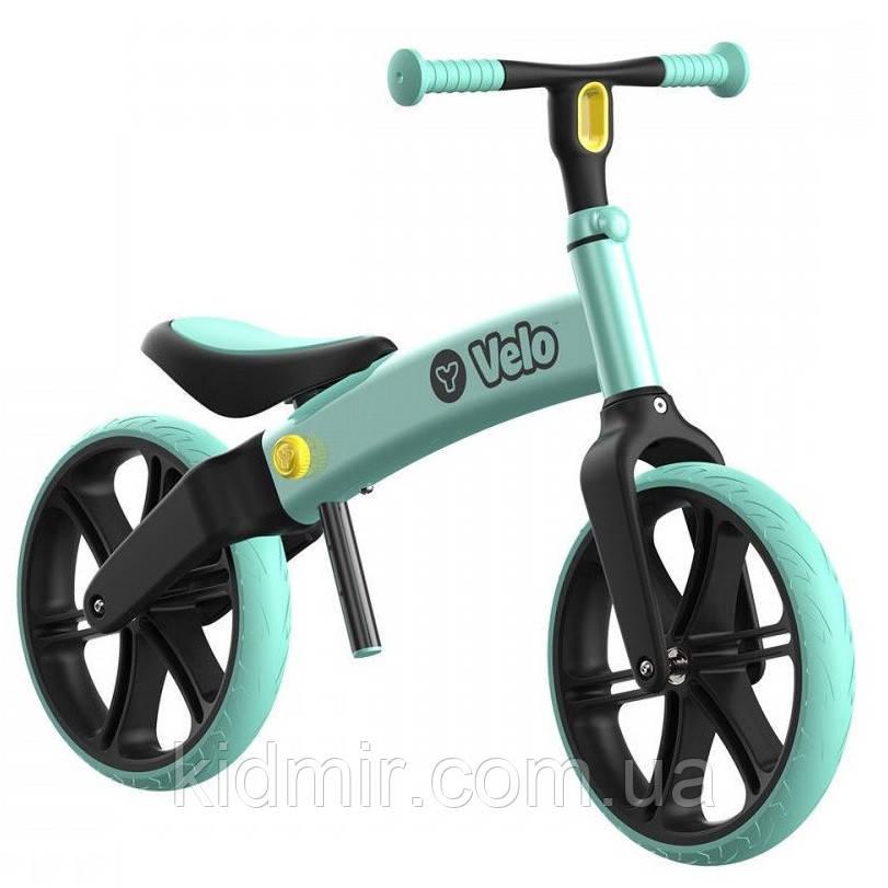 Беговел детский зелений Yvolution Velo balance 101052