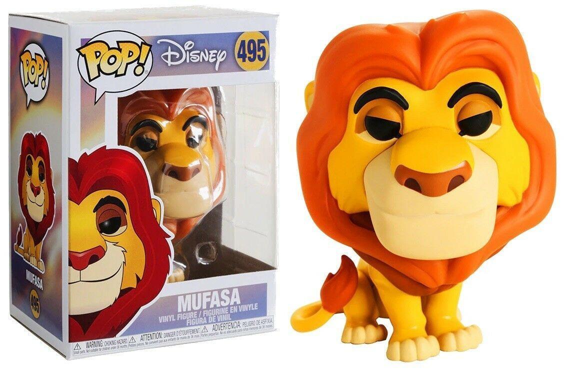 Фигурка Funko Pop Фанко Поп The Lion King Mufasa Король Лев Муфаса TLK M495