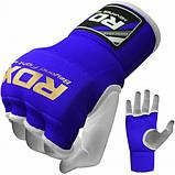 Бинт-рукавичка RDX Inner Gel Blue L, фото 2