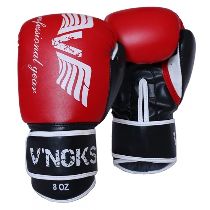 Боксерские перчатки V`Noks Lotta Red 10 oz унций красный