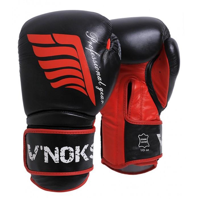 Боксерские перчатки V`Noks Inizio 12 oz унций черный
