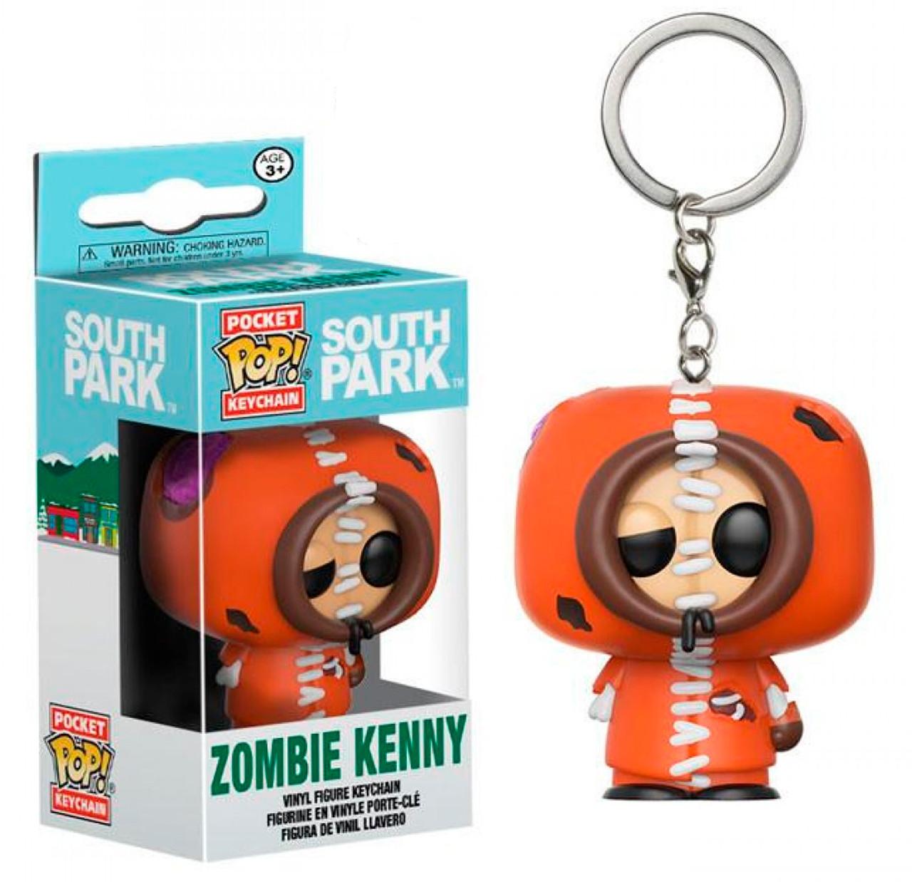 Купить Фигурка брелок Funko Pop Южный Парк Кенни South Park Kenny 4 см Trinket SP K