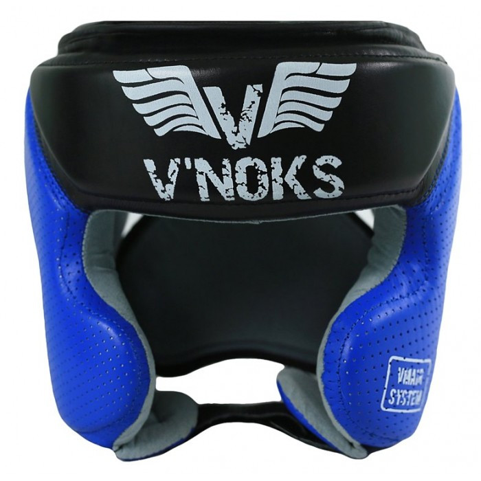 Боксерский шлем V`Noks Futuro Tec M синий