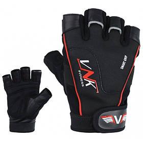 Рукавички для фітнесу чоловічі VNK Pro L чорний