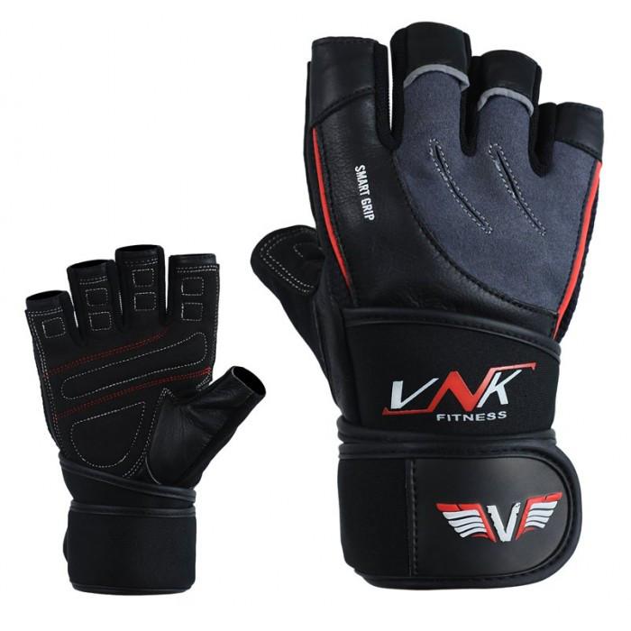 Перчатки для фитнеса мужские VNK SGRIP Grey XL серый