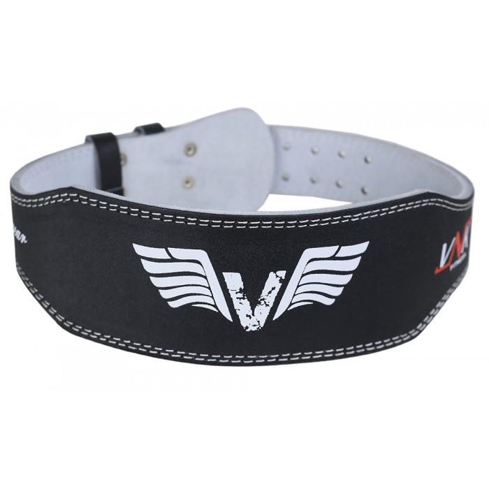 Пояс для тяжелой атлетики VNK Leather 10 см M кожа черный