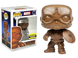 Фігурка Funko Pop Фанко Поп Марвел Ексклюзив Капітан Америка Marvel Exclusive Captain America 10 см M CA 584