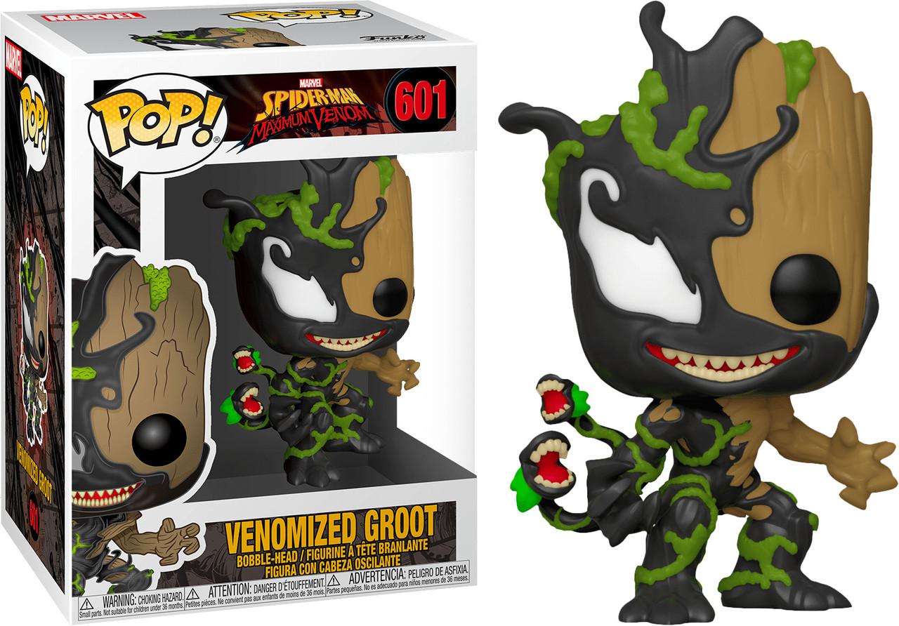 Фигурка Funko Pop Фанко Поп Марвел веномизированный Грут Marvel Venomized Groot 10 см  V VG 601