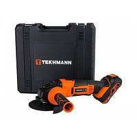 Шліфмашина кутова акумуляторна Tekhmann TAG-125 / i20 kit