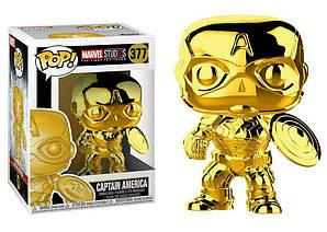 Фігурка Funko Pop Фанко Поп Marvel Studios 10 Captain America Ch Марвел Капітан Америка 10 см МЅ CA377
