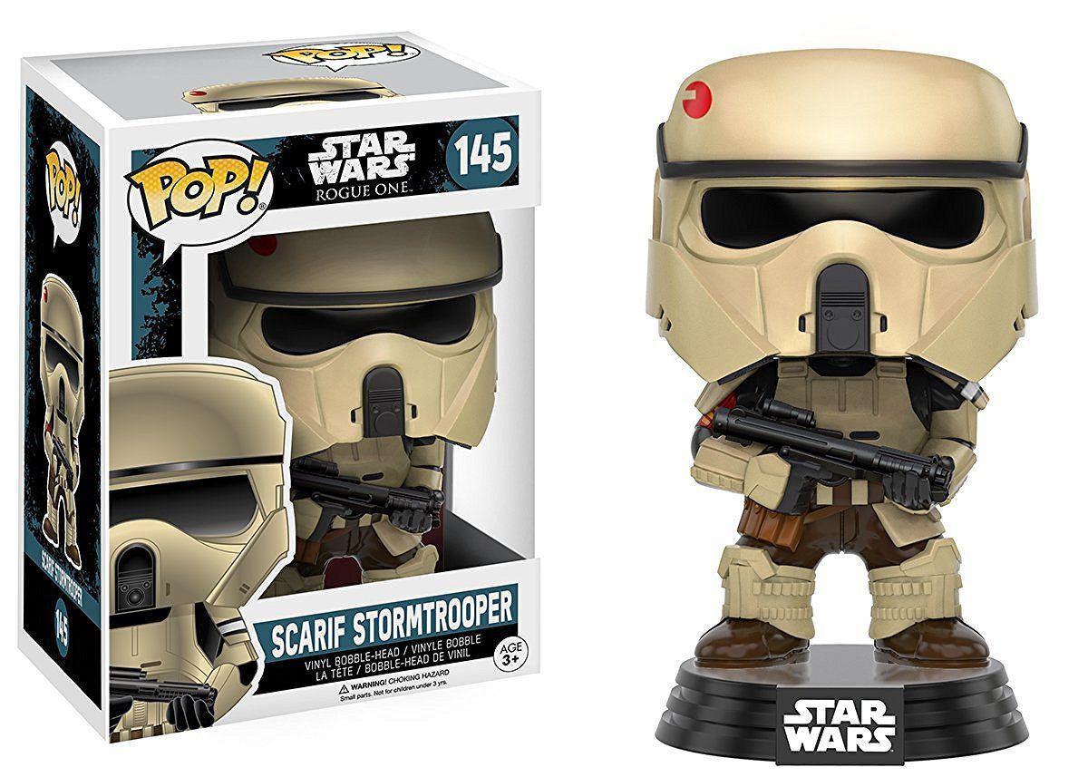 Фигурка Funko Pop Фанко Поп Star Wars Scarif Stormtrooper Звездные войны Штурмовик Скарифа 10см SW145