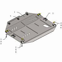 Защита двигателя кольчуга Chevrolet Captiva 2011- V-3,0, фото 1
