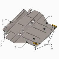 Защита двигателя кольчуга Citroen С5 2008- V-1,8; 2.0 HDI, фото 1