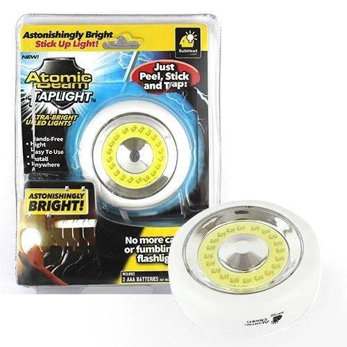 Светильник универсальный точечный освещение Atomic Beam Tap Light