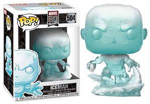 Фигурка Funko Pop Фанко Поп Марвел 80 лет Человек лёд Marvel 80th Iceman 10 см ХМ IM 504