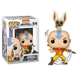 Фигурка Funko Pop Фанко Поп Аватар Аанг и Момм Avatar The Last Airbender Aang 10 см Cartoon AL AM 534
