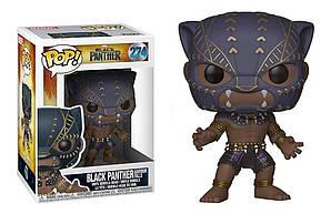 Фигурка Funko Pop Фанко Поп Марвел Чёрная Пантера Marvel Black Panther 10 cм ВР BP 274