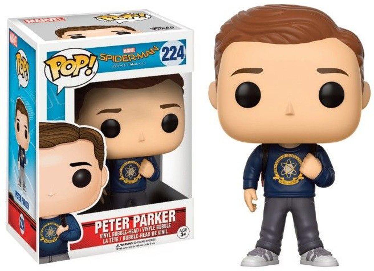 Фигурка Funko Pop Фанко Поп Питер Паркер Peter Parker Iron Spide SM PP 224