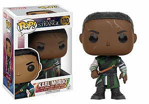 Фигурка Funko Pop Фанко Поп Марвел Доктор Стрейндж Карл Мордо Marvel Doctor Strange Karl Mordo 10 cм DS KM 170