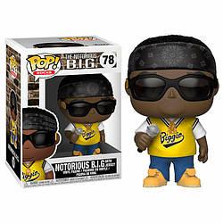 Фигурка Funko Pop Фанко Поп Рок Ноториус Биг Rocks Notorious B.I.G. 10 см R NB 78