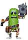 Фигурка Funko Pop Фанко Поп Рик и Морти Огурчик с лазером Rick and Morty Pickle Rick 10см RM PR 332, фото 2