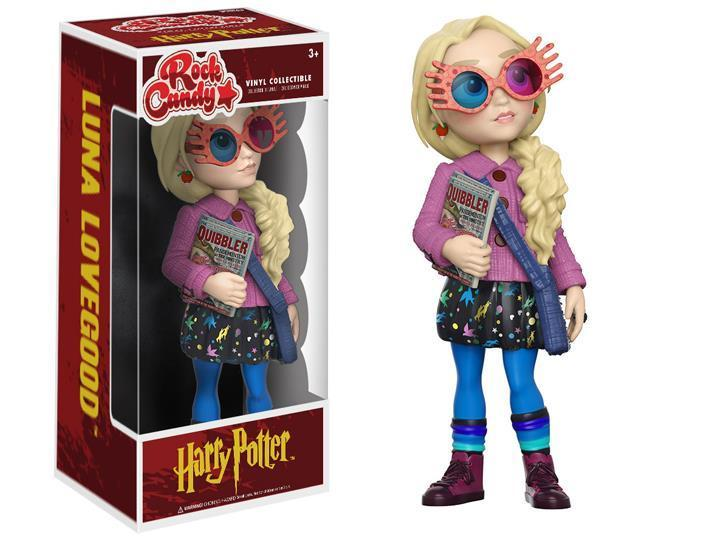 Фигурка Funko Rock Candy Harry Potter Luna Lovegood Гарри Поттер Полумна Лавгуд 13 см  BL 187