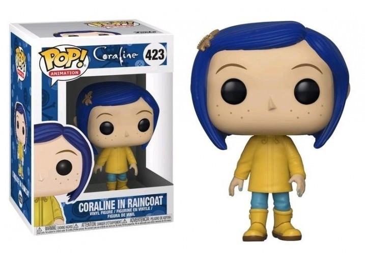 Фигурка Funko Pop Фанко Поп Коралина в Стране Кошмаров Кукла Королина Coraline Doll 10 см Cartoon С СD 423