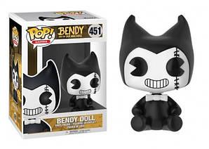 Фигурка Funko Pop Bendy and the Ink Machine Bendy doll Бенди и чернильная машина Бенди кукла 10 cм BIM BD451