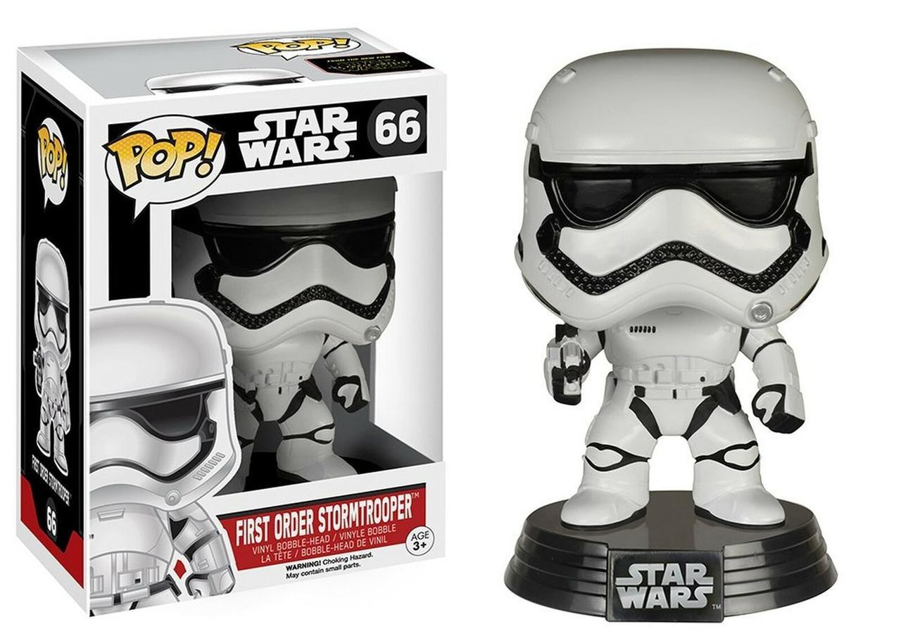 Фигурка Funko Pop Star Wars Stormtrooper Звёздные войны Штурмовик 10 см SW66