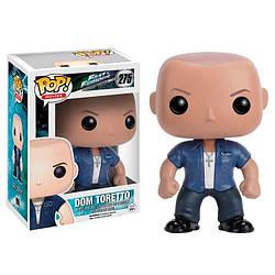Фігурка Funko Pop Фанко Поп Форсаж Будинок Торетто Fast and Furious Dom Toretto 10 см DT275