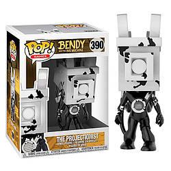 Фігурка Funko Pop Фанко Поп Бенді Протекціоніст Bendy The Projectionist 10 см Game B P 390