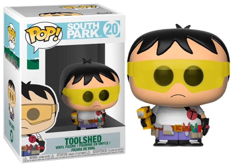 Купить Фигурка Funko Pop Фанко Поп ИнструментЮжный ПаркToolshed South Park 10 см cart SP Т 20