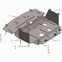 Защита двигателя кольчуга Kia Ceed 2016- V-1,6i; 1,6CRDI, фото 1