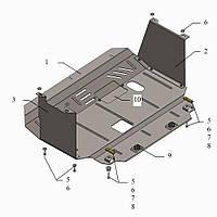 Защита двигателя кольчуга Kia Cerato III 2013- V-1,6; 2,0, фото 1
