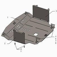 Защита двигателя кольчуга Kia Rio IV 2011- V-всі, фото 1