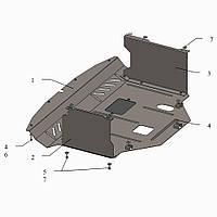 Защита двигателя кольчуга Kia Soul 2014- V-1,6, фото 1