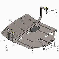 Защита двигателя кольчуга Kia Sportage IV 2016- V-всі, фото 1