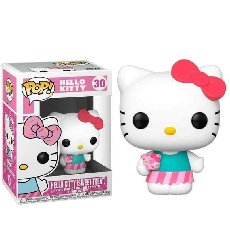 Фигурка Funko Pop Фанко Поп Привет, киска Киса Hello Kitty Kitty 10 см Cartoon HK K 30