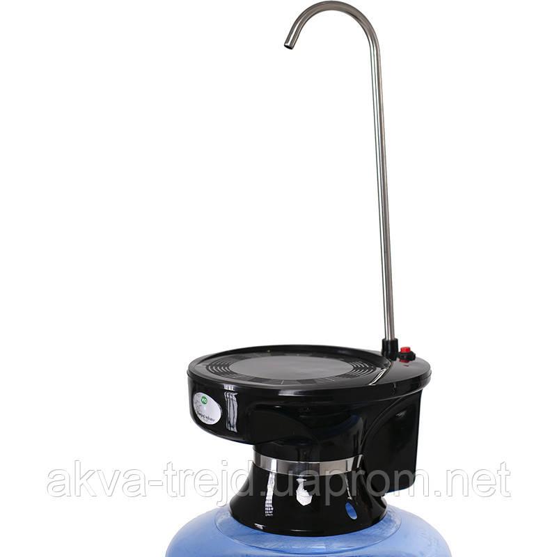 Помпа электрическая ViO E3 black для воды в 19л бутылях, черная
