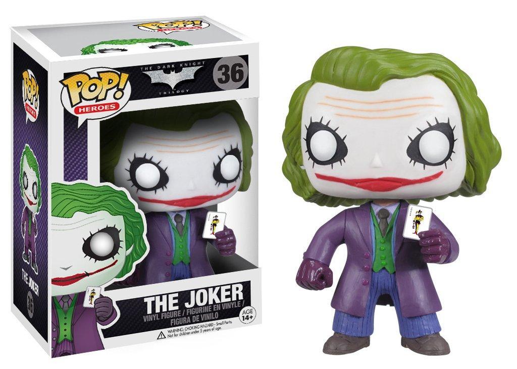 Фигурка Funko Pop Фанко Поп Темный Рыцарь Джокер The Dark Knight Joker 10 см DC J 36