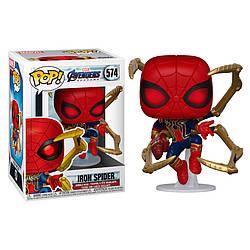 Фигурка Funko Pop Фанко Поп Человек Паук Железный Человек паук Iron Spider Man 10 см SM IS 574