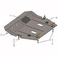Защита двигателя кольчуга Nissan Sentra 2014- V-1,6і, фото 1
