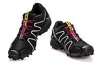 Кроссовки мужские Salomon Speedcross 3 черные
