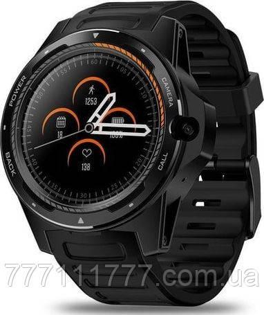 Смарт часы на андроиде с пульсометром и шагометром Zeblaze THOR 5 black