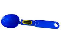 Мерная ложка с весами электронная, Синяя, Digital Spoon Scale, ложка-весы для кухни